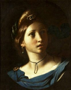 Portrait of a Young Woman | Alessandro Turchi | Oil Painting