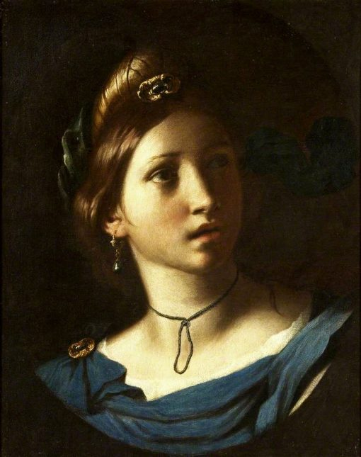 Portrait of a Young Woman   Alessandro Turchi   Oil Painting