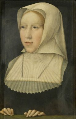 Margaret of Austria | Bernaert van Orley | Oil Painting