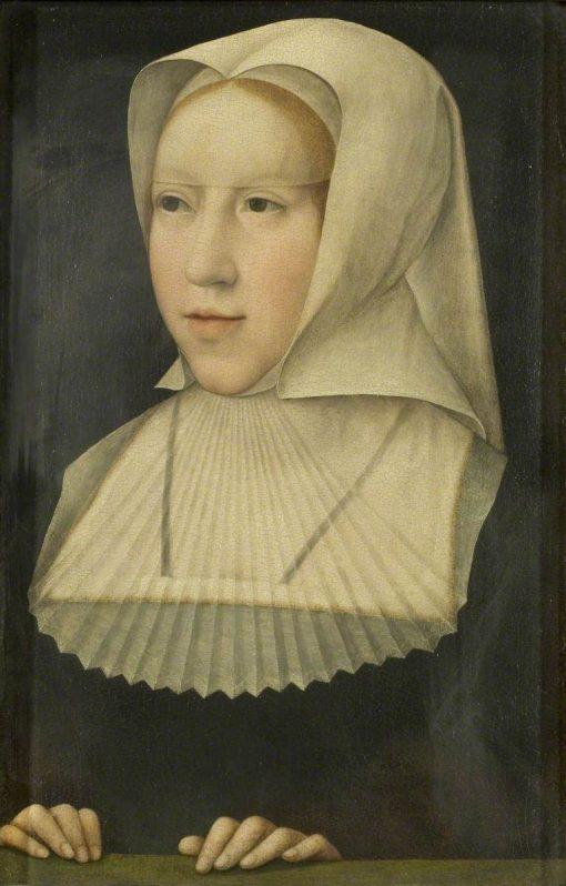 Margaret of Austria | Bernaert van Orley | Oil Painting