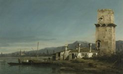 The Tower of Malghera | Bernardo Bellotto | Oil Painting