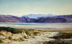 The Mountains of Thermopylae | Edward Lear | Oil Painting