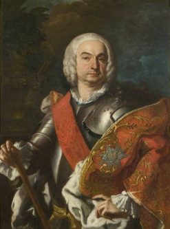 A Knight of the Order of Saint Januarius | Francesco Solimena | Oil Painting