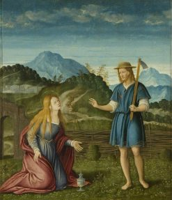 Noli me Tangere: Christ Appearing to the Magdalen | Girolamo da Santa Croce | Oil Painting