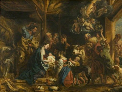 The Nativity | Jacob Jordaens | Oil Painting