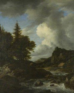 River in Spate | Jacob van Ruisdael | Oil Painting
