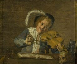 A Boy Musician | Judith Leyster | Oil Painting
