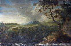 A Landscape | Lucas van Uden | Oil Painting