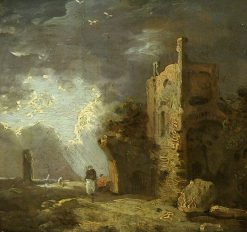 Ruined Tower with Figure | Richard Wilson