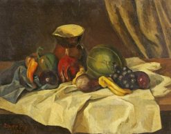 Still Life: Fruit with Jug | Roger Eliot Fry | Oil Painting