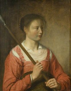 A Shepherdess | Salomon de Bray | Oil Painting