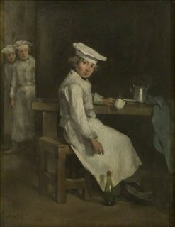 The Little Cooks | ThEodule Augustin Ribot | Oil Painting