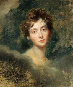 Lady Caroline Lamb (d.1828)   Thomas Lawrence   Oil Painting