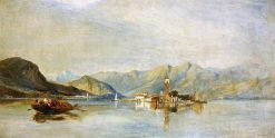 Lago Maggiore and Isola Bella | William James Muller | Oil Painting