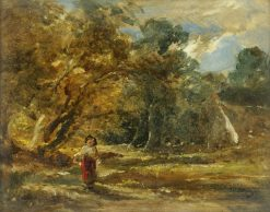 Landscape with Girl | William James Muller | Oil Painting