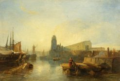 Bristol Harbour | William James Muller | Oil Painting
