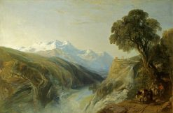 An Alpine Scene | William James Muller | Oil Painting