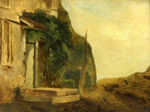 A Cottage Doorway | William James Muller | Oil Painting