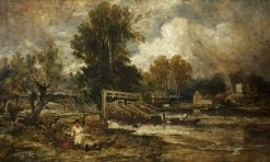 Eel Bucks at Goring | William James Muller | Oil Painting