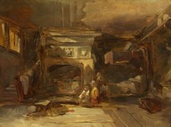 A Welsh Interior | William James Muller | Oil Painting