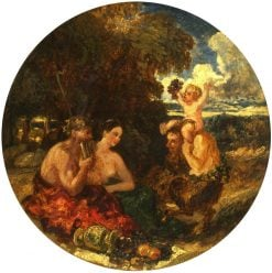 The God Pan | William James Muller | Oil Painting