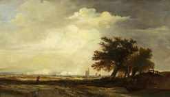 Landscape with Church | William James Muller | Oil Painting