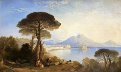 The Bay of Naples | William James Muller | Oil Painting