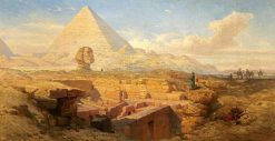 The Pyramids | William James Muller | Oil Painting