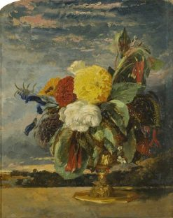 Flower Piece | William James Muller | Oil Painting