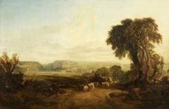 Clifton from Ashton Meadows | William James Muller | Oil Painting