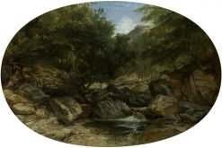 Rocky Stream at Lynmouth | William James Muller | Oil Painting