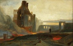 Bristol Riots: Ruins of Warehouses in Prince Street | William James Muller | Oil Painting