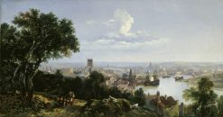 View of Bristol from Clifton Wood | William James Muller | Oil Painting
