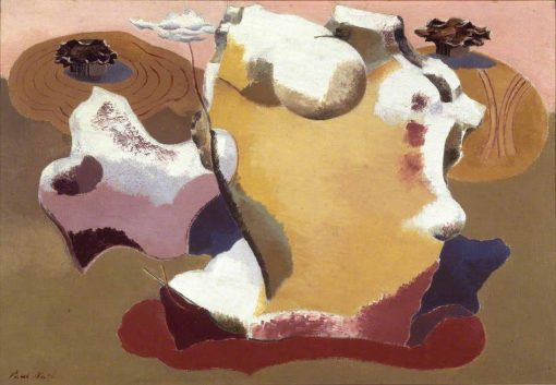 Landscape of the megaliths   Paul Nash   Oil Painting