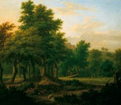 Wooded Landscape with Gypsies