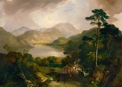 View of Ullswater | Samuel Bough | Oil Painting
