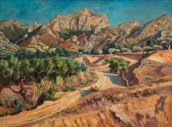 Near Les Baux | Roger Eliot Fry | Oil Painting