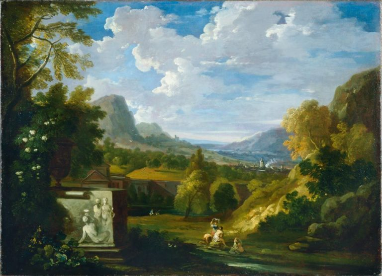 Landscape with Figures | Gaspard Dughet | Oil Painting