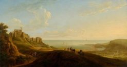 View of Dover Castle | George Lambert | Oil Painting