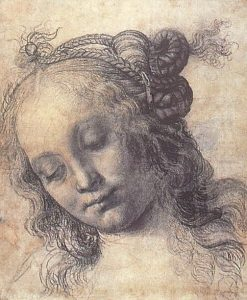 Head of a Girl | Andrea del Verrocchio | Oil Painting
