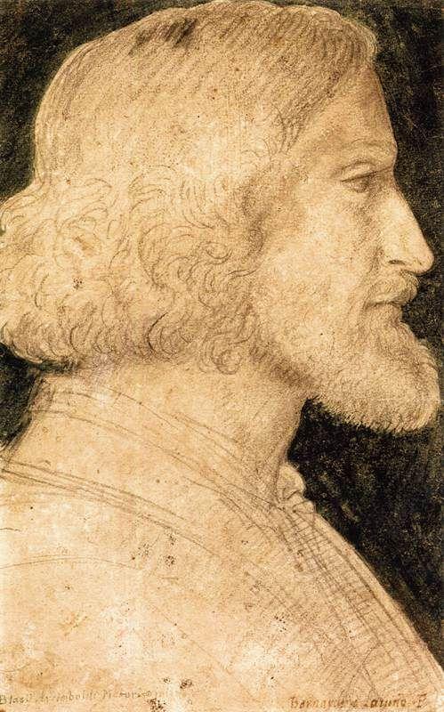 Portrait of Biagio Arcimbaldo | Bernardino Luini | Oil Painting