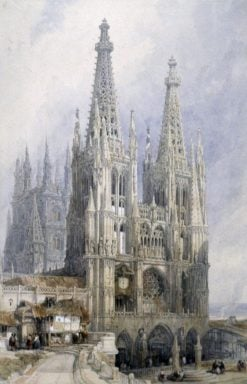 Burgos Cathedral | David Roberts | Oil Painting
