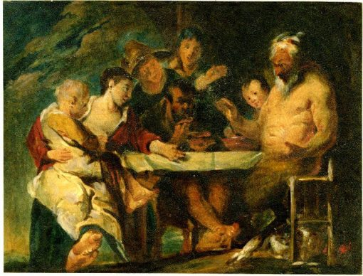 A Group around a Table