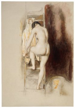 Nude Study | David Wilkie | Oil Painting