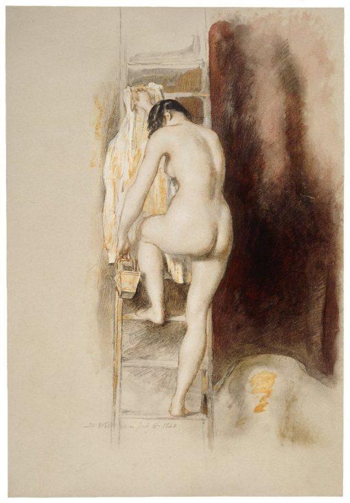 Nude Study | David Wilkie | Oil Painting