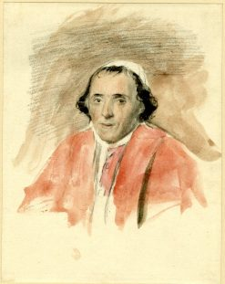 Portrait of Pope Pius VII(also known as Study for the picture of 'Napoleon and the Pope at Fontainebleau') | David Wilkie | Oil Painting