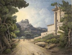 Rocca del Papa | Francis Towne | Oil Painting