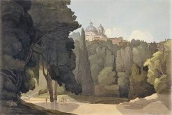 Ariccia | Francis Towne | Oil Painting