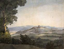 Monte Porzio from the Villa Mondragone