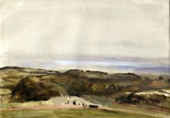 View of Hills near Bristol | Hercules Brabazon Brabazon | Oil Painting